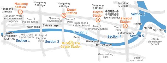 Information on Yangjae Stream